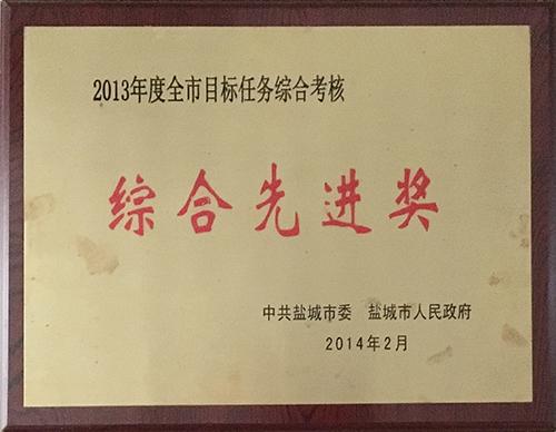 2014年2月全市目标任务综合考核综合先进奖.JPG
