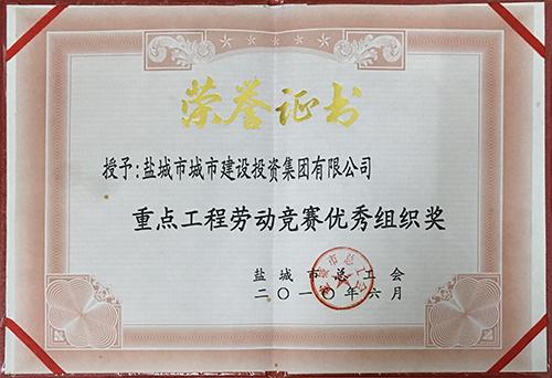 2010年6月重点工程劳动竞赛优秀组织奖.JPG