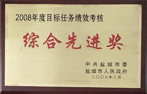 """2009年2月目标任务绩效考核""""综合先进奖"""".JPG"""