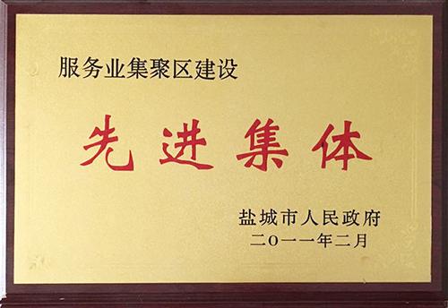 2011年2月市政府授予 服务业集聚区建设  先进集体.jpg